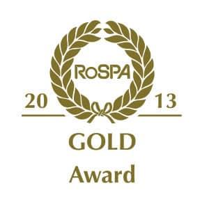 UKDN Waterflow achieve RoSPA Gold award 2013