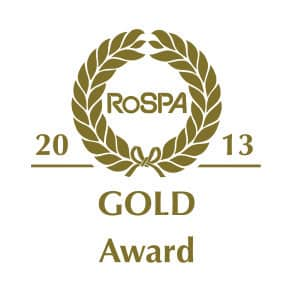 UKDN Waterflow achieve RoSPA Gold award 2013
