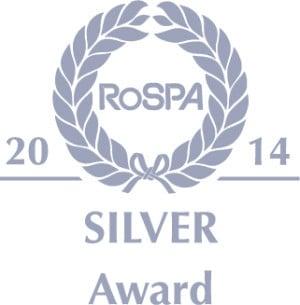 RoSPA silver award 2014 UKDN Waterflow
