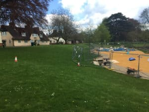 Playground's closed for radar work