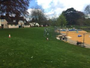 Playground's closed for radar work