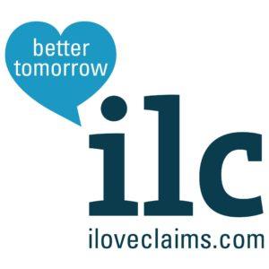 I love claims logo