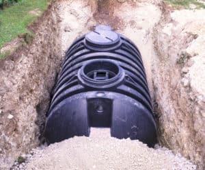 Septic Tanks Installation in ground