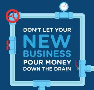 new business drainage infographic