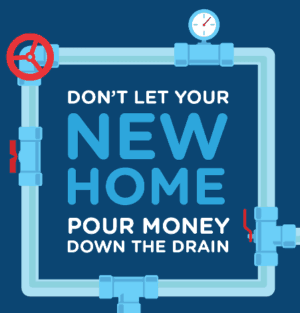 new home drainage infographic