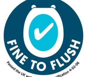 Water UK Flushability logo