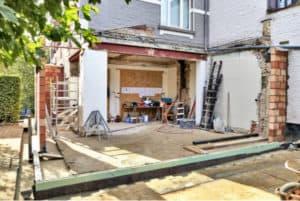Building Extension - work in progress