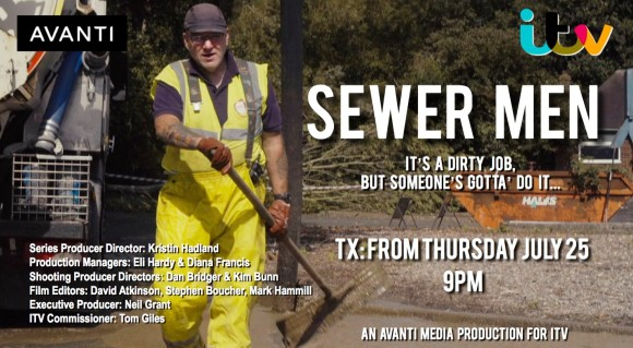 Sewer Men - ITV documentary about wastewater workers