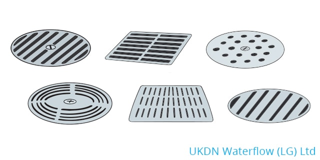 Different types of manhole covers